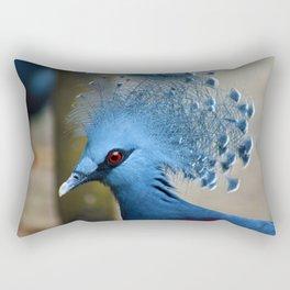 Victoria Crowned Pigeon Rectangular Pillow