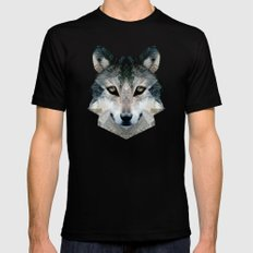 FOX Black Mens Fitted Tee X-LARGE
