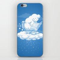 snowflake iPhone & iPod Skins featuring Snowflake by Murat Özkan