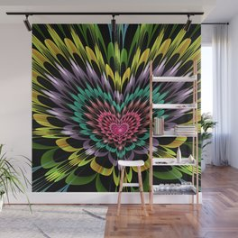 My heart explodes for you Wall Mural