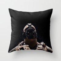 league Throw Pillows featuring League of Shadows by Chuck Jackson