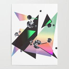 Multicolor Orgasm Poster