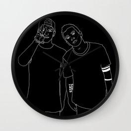 TYLER & JOSH Wall Clock