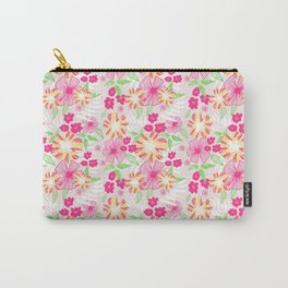 20 Tropical Flower Collection Carry-All Pouch