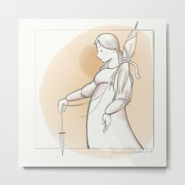 Saint Distaff's Day Metal Print
