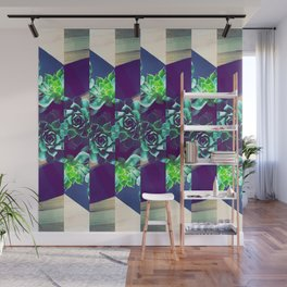 Home Pattern Wall Mural