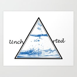 Uncharted Water Art Print