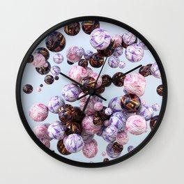 Marbles Wall Clock