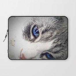 Blue Eyes Laptop Sleeve