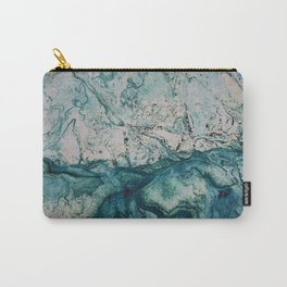 Blue underwater stone Carry-All Pouch