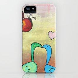 Love Swans iPhone Case