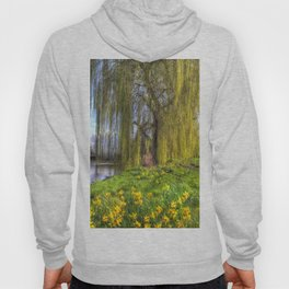 Daffodils and Willow Tree Hoody