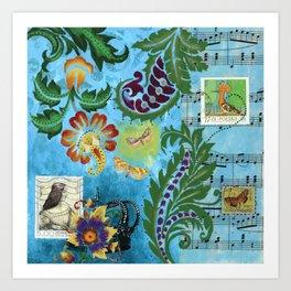 Song of Revival Art Print