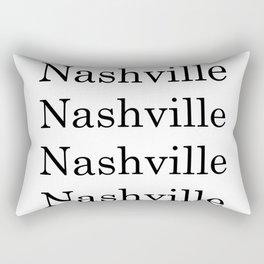 City Art- Nashville Rectangular Pillow