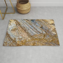 Stunning rock layers Rug