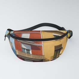 Colorful houses Fanny Pack