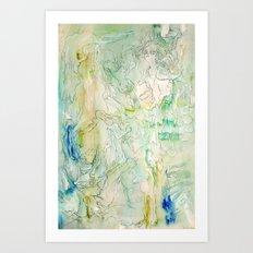 Hide (part one of three) Art Print