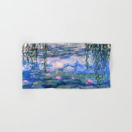 Water Lilies Monet Hand & Bath Towel