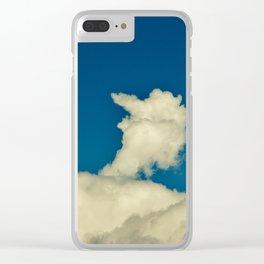 Big Bird Cloud Clear iPhone Case