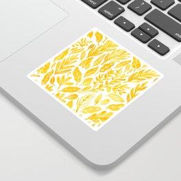 Dandelion Yellow Sticker