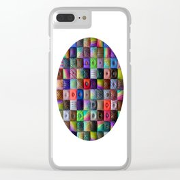 Patchwork of Joy Clear iPhone Case