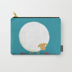 Fluffy Sheep Carry-All Pouch