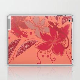 Samoa Watermelon Polynesian Floral Laptop & iPad Skin