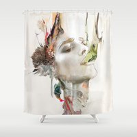 morning Shower Curtains featuring Morning Chorus by Archan Nair