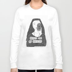 Movies Are My Religion Long Sleeve T-shirt
