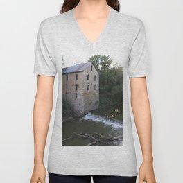 The Old Flour Mill Unisex V-Neck