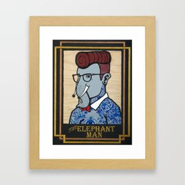 Elephant Man Framed Art Print