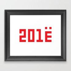 201Ё / New Year 2013 Framed Art Print