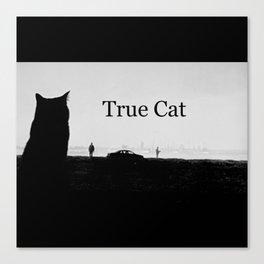 True Cat Canvas Print