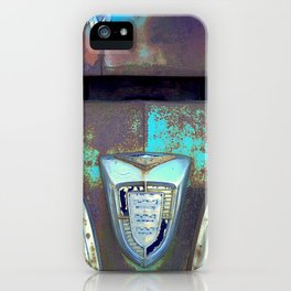 Greetings from the Rustbelt VI:  You Left Your Hood Open iPhone Case