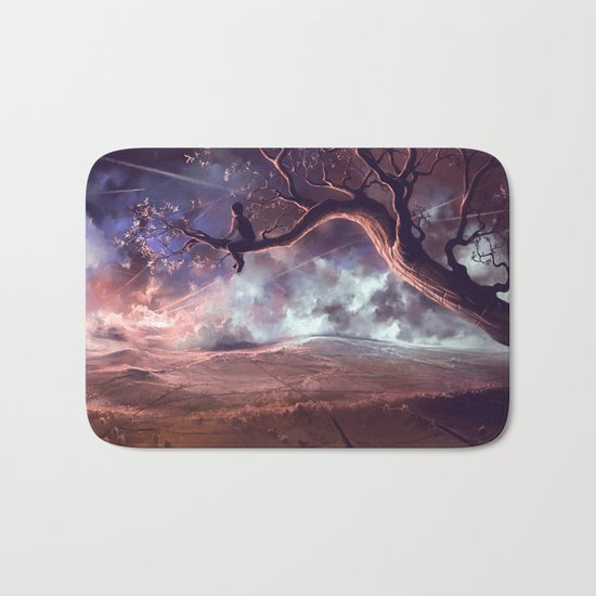 It made scars in the sky  Bath Mat