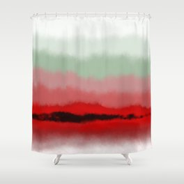 Fade To White Shower Curtain