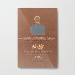 Firefly - Book Metal Print
