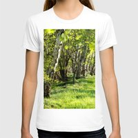 birch T-shirts featuring birch alley by Kay Weber