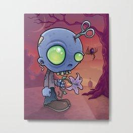 Zombie Jr. Metal Print