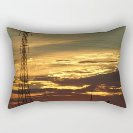 Prairie Silhouette Rectangular Pillow