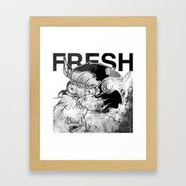 Predatory Glow Framed Art Print