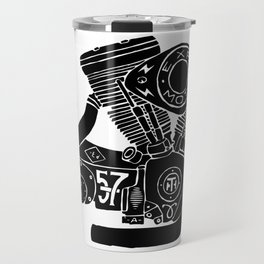 cafe racer - motorcycle engine Travel Mug