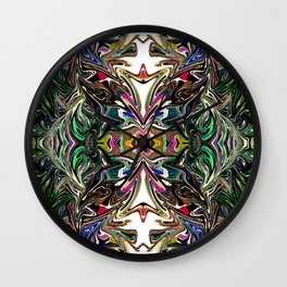 Under The Ocean With You - Rainbow Collection  Wall Clock