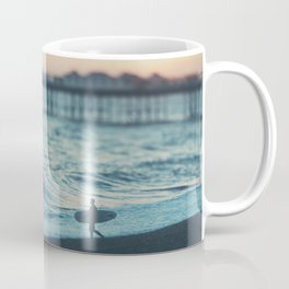 the lone surfer ... Coffee Mug
