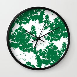 Song of nature - Day Wall Clock
