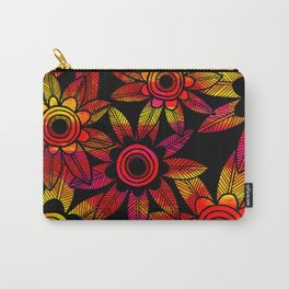 Big Floral 1 Carry-All Pouch
