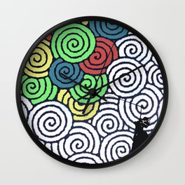 balloon Wall Clock