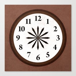 I Need Thee Every Hour Canvas Print