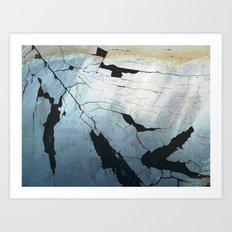 The River Delta Art Print