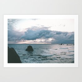 Oregon Coast X Art Print
